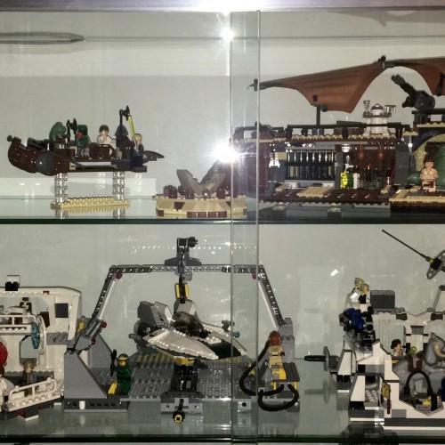 Winckypedia Meine Welt Lego Star Wars Vitrine